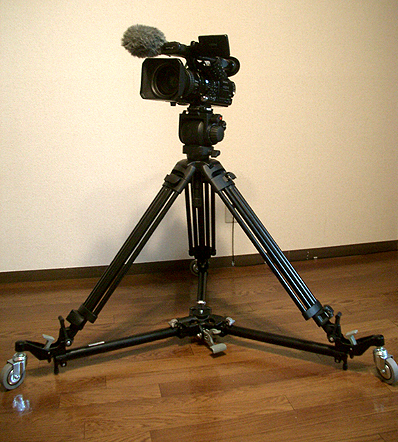 Manfrotto Dolly 181B と Manfrotto 519 + 525MVB